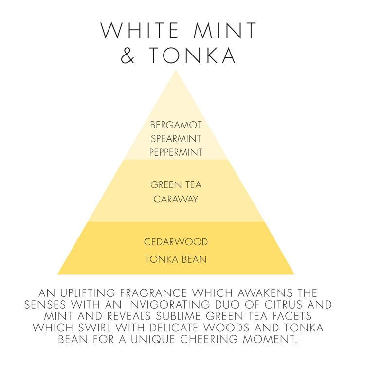 Image de White Mint & Tonka Natural Candle
