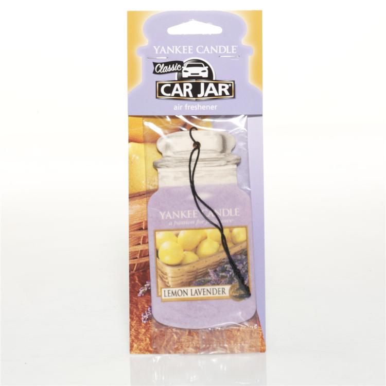 Image de Lemon Lavender Car Jars Karton