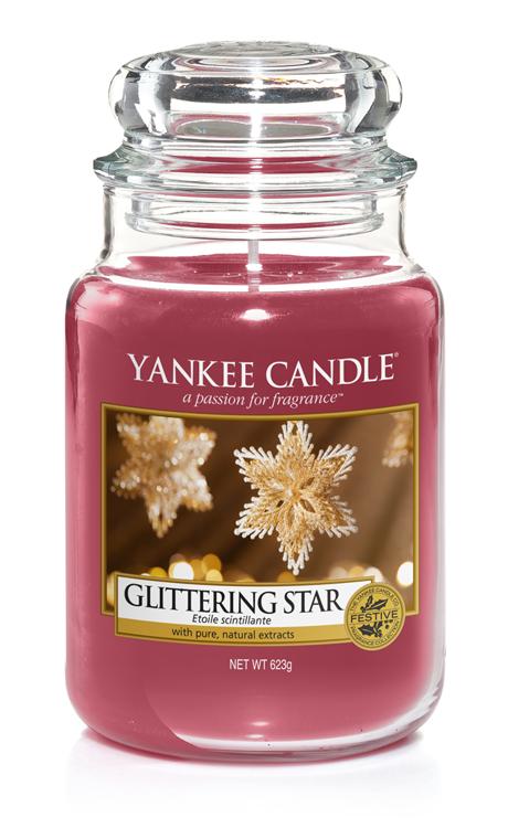 Bild von Glittering Star large Jar (gross/grande)