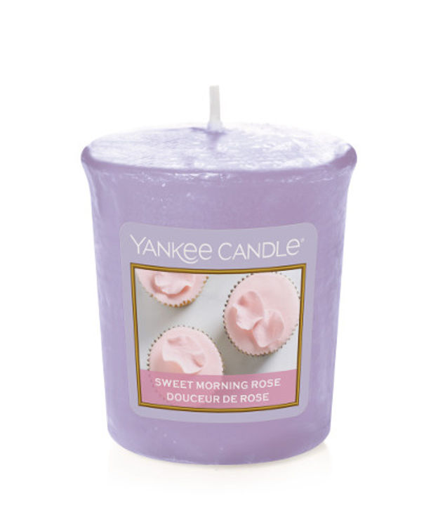 Image de Sweet Morning Rose Votives