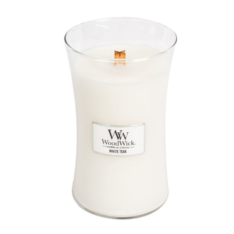 Bild von White Teak Large Jar