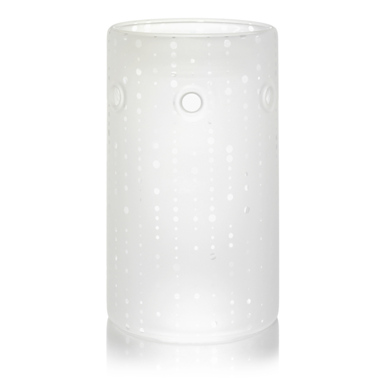 Image de Addison Dotted Glass Wax Warmer H144xD91mm