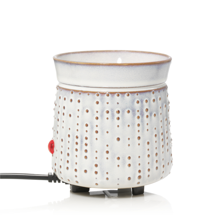Image de Addison Ceramic Dot Electric Wax Warmer H105xD90mm