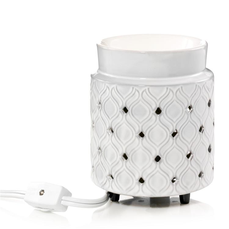 Bild von Addison Punched Ceramic Electric Wax Warmer H138xD100m