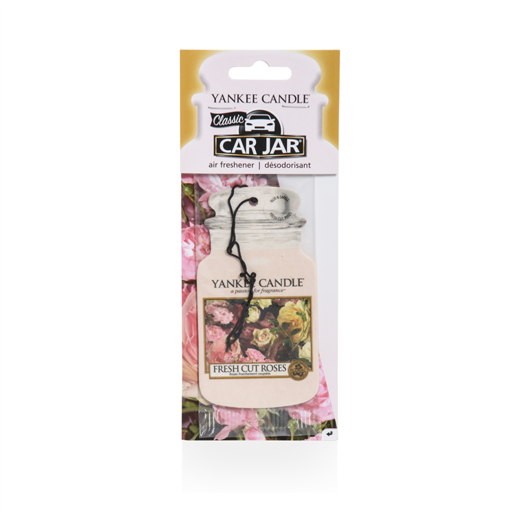 Image de Fresh Cut Roses Car Jars Karton
