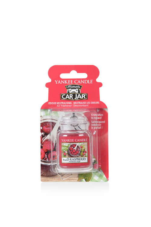 Image de Red Raspberry Car Jar Ultimate