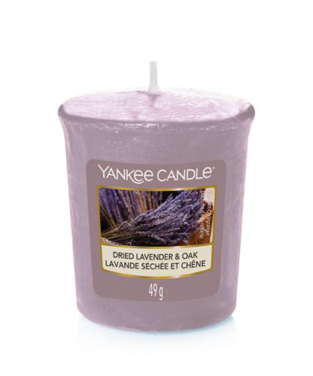 Bild von Dried Lavender & Oak Votives