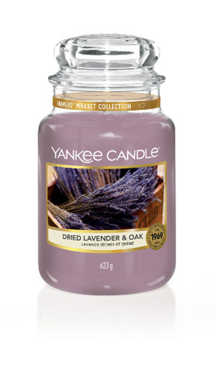 Image de Dried Lavender & Oak large Jar (gross/grande)