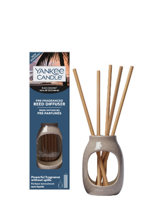 Bild von Black Coconut Reed Kit Pre Fragranced Diffuser