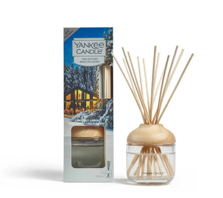 Image de Candlelit Cabin Reed Diffusers 120ml