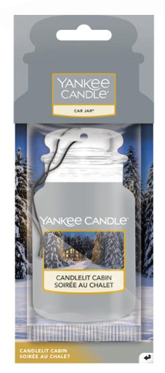Image de Candlelit Cabin Car Jars Karton