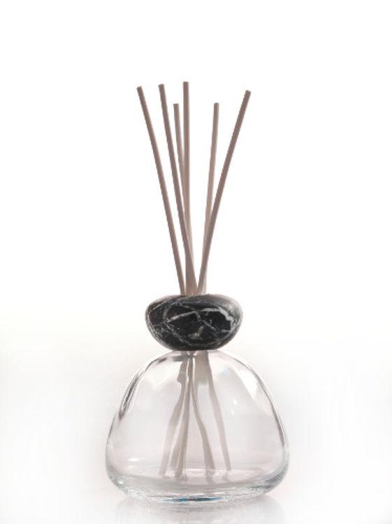 Image de Fragrance Diffuser Marble Cap Black clear (ohne Flüssigkeit)