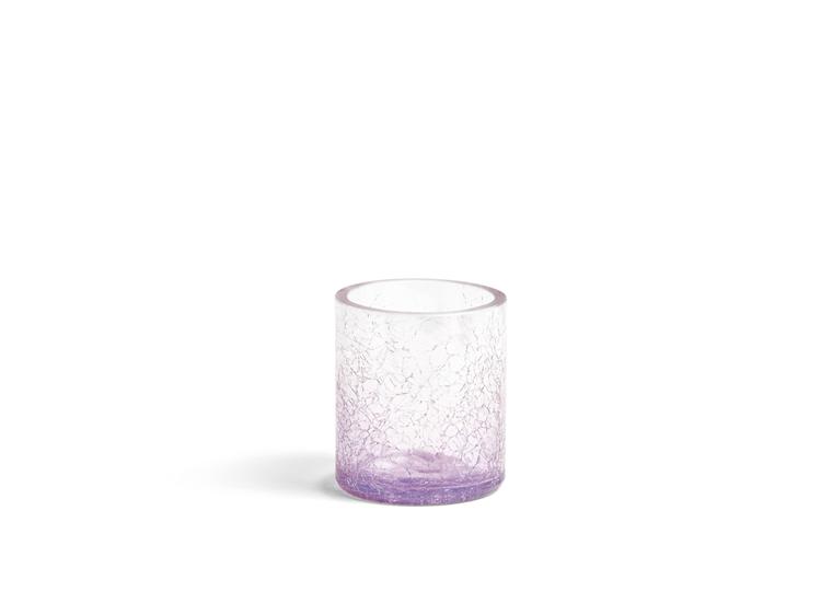 Bild von Savoy Purple Glass NEW TL/Votive Holder H75xB65xT65mm