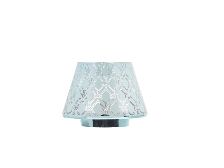 Image de Savoy Ombre Glass NEW Jar Shade & Plate Lg/Md