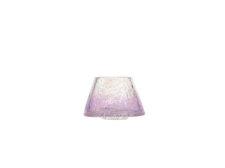 Image de Savoy Purple Glass NEW Small Shade & Tray Retail Box