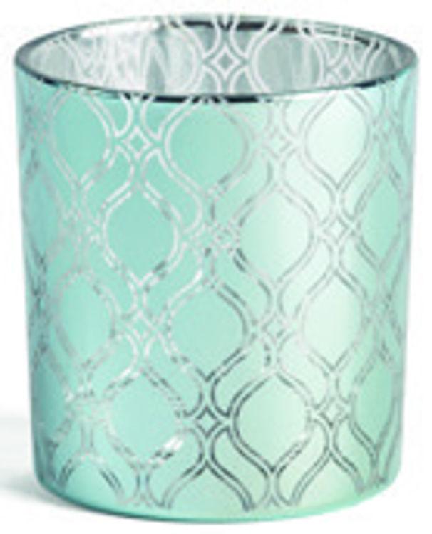 Image de Savoy Ombre Glass NEW TL/Votive Holder H80xB75xT75mm