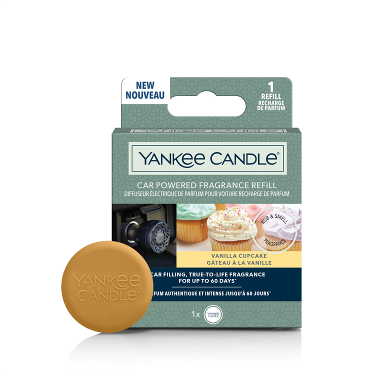 Image de Vanilla Cupcake Car Powered Fragrance Refill