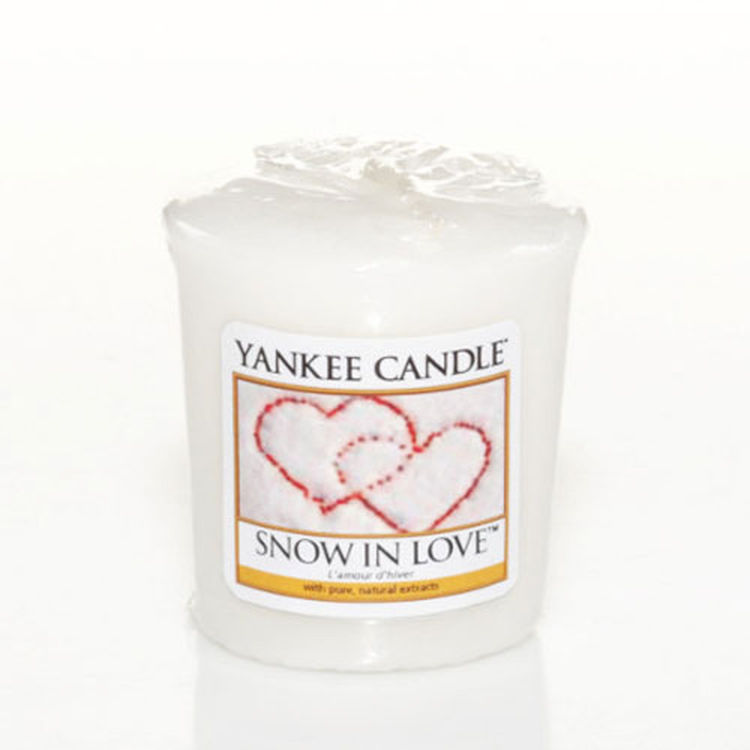 Bild von Snow in Love Votives