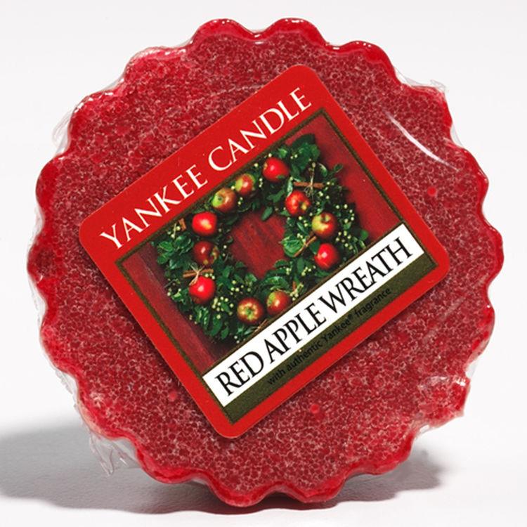 Bild von Red Apple Wreath Wax Melts