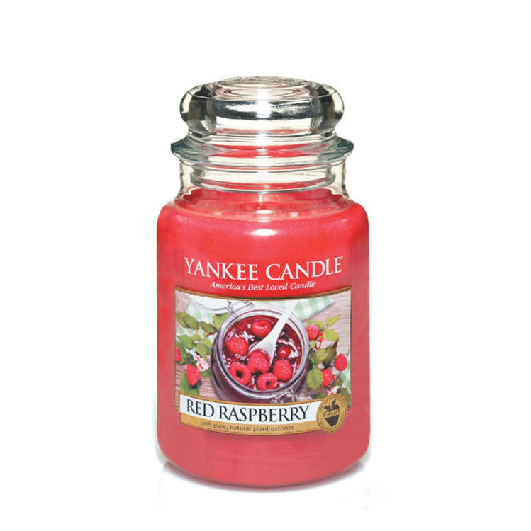 Bild von Red Raspberry large Jar (gross/grande)