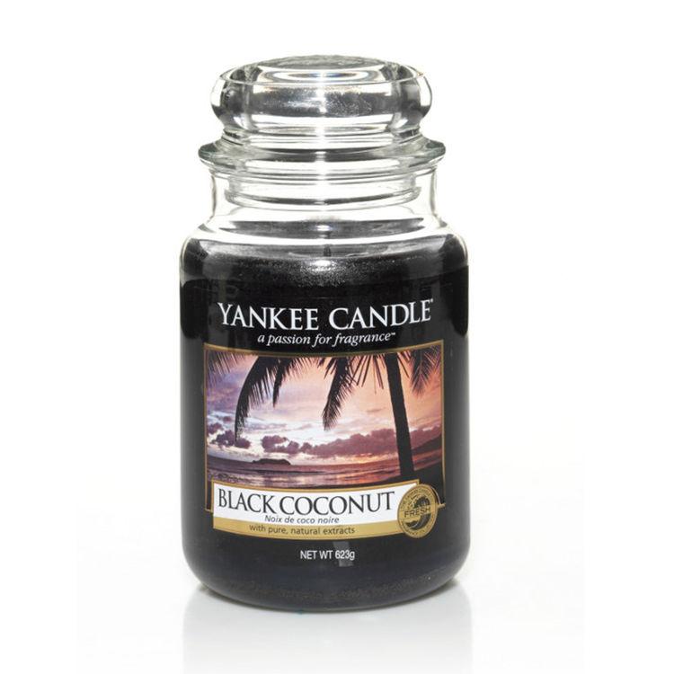 Bild von Black Coconut large Jar (gross/grande)