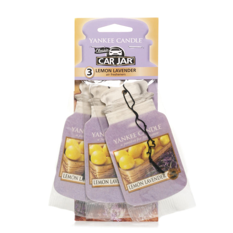 Image de Lemon Lavender Multi Pack Car Jars 3er Pack Karton