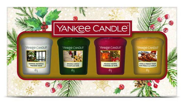 Bild von Christmas Morning Giftset 4 Votive Candles