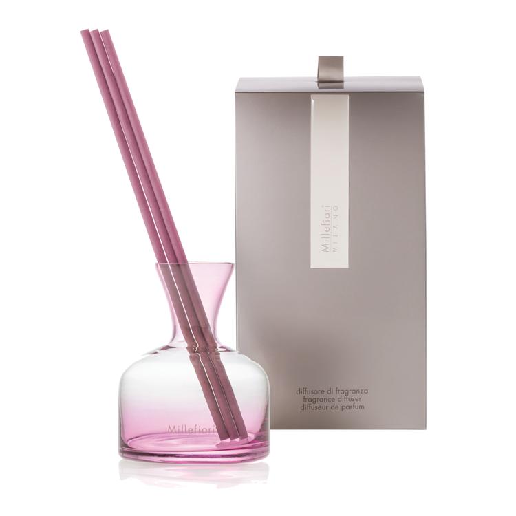 Image de Vase Fragrance Diffuser Pink Glass