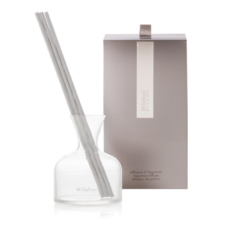 Image de Vase Fragrance Diffuser White Glass