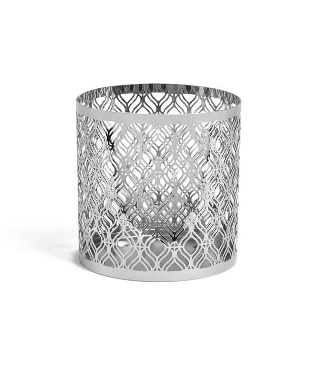 Image de Savoy Metallic Jar Sleeve H105xB15xT110mm