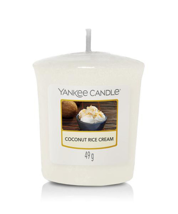 Bild von Coconut Rice Cream Votives