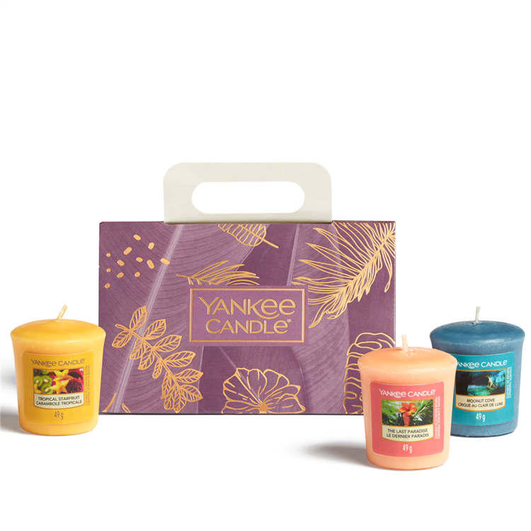 Image de The Last Paradise Giftset 3 Votive Candles