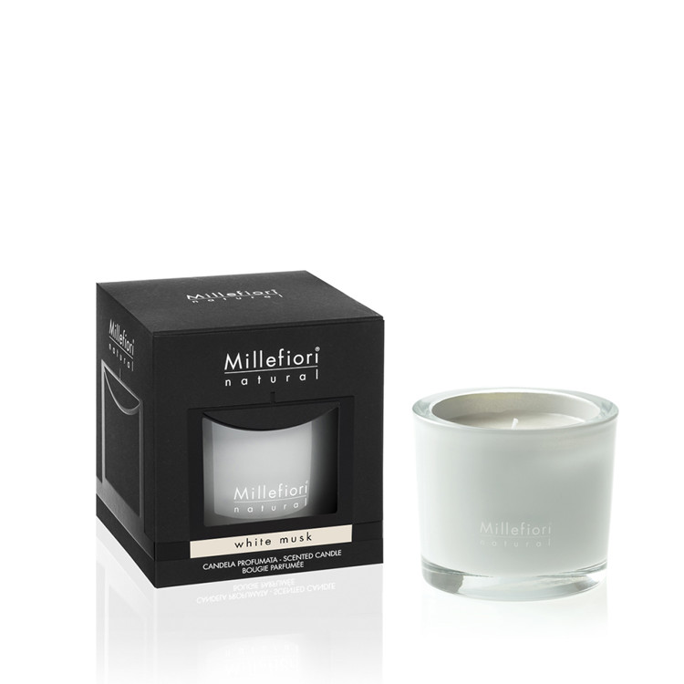 Image de White Musk Natural Candle
