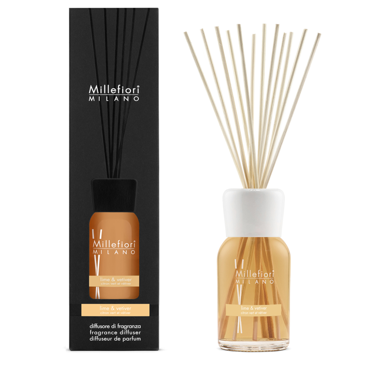 Image de Lime & Vetiver Natural Stick Diffuser 500ml