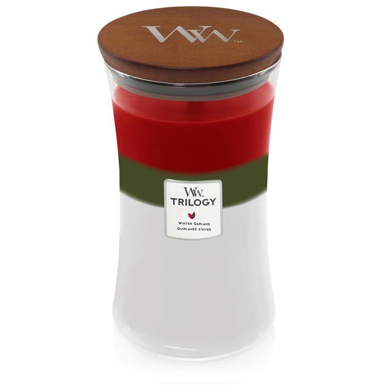 Bild von Winter Garland Trilogy Large Jar