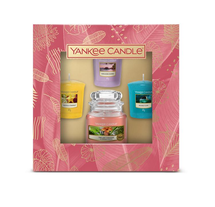 Bild von The Last Paradise Giftset 1 small Jar and 3 Votives